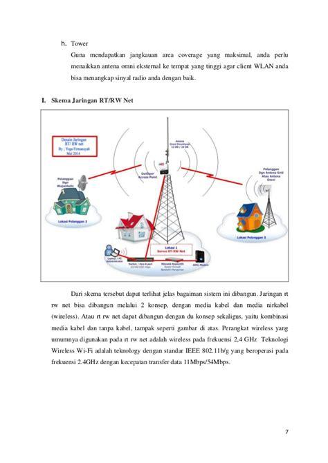alat dan bahan untuk membuat rt rw net rencana pembuatan rt rw net