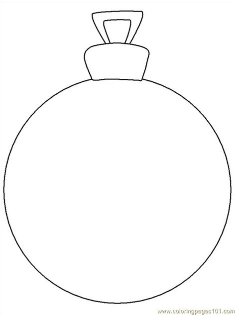 free printable coloring image ornament christmas around