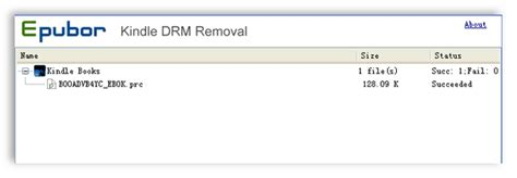 prc drm removal for kindle android books