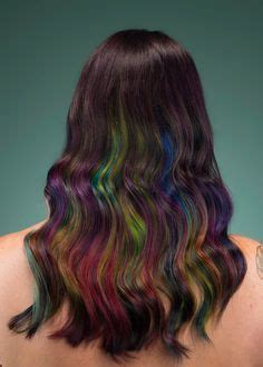 is streaking still popular on hair 1000 ideas about colored hair streaks on pinterest