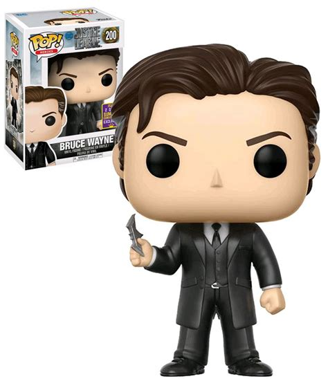Official Sdcc 2017 Funko Pop Justice League Bruce Wayne Vin funko pop dc justice league 200 bruce wayne 2017 sdcc comic con exclusive new mint