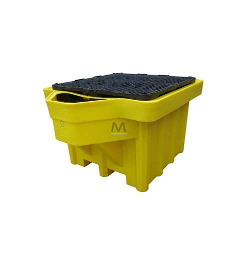 vasca in polietilene vasca di contenimento in polietilene per 1 ibc con