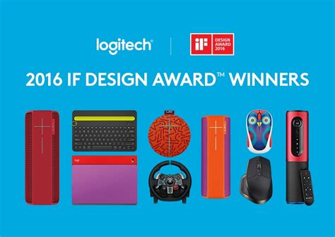 ca home and design awards 2016 logitech honored with eight 2016 if design awards