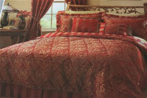 raymond waites quot windham quot damask king comforter set shams