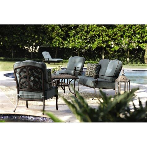 home decorators outdoor furniture home decorators collection madrid bronze 6 piece patio