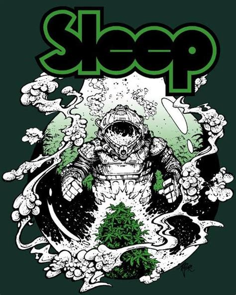 doomed amp stoned new sleep t from iconic nw artist arik roper