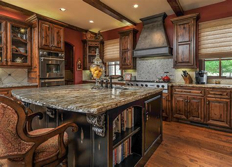 Dark Wood Kitchen Island by 50 High End Dark Wood Kitchens Photos Designing Idea
