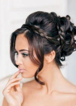 long black hairstyles 2014 with pin ups acconciature sposa 2015 capelli neri