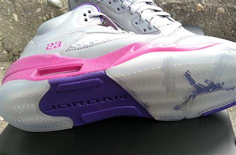Schuhe Big Air 5 Gs Cement Flash Pueple Grau Kinder Rosa Ordnungsgemã ã Er Service P 193 air v gs cement grey another look sneakerfiles