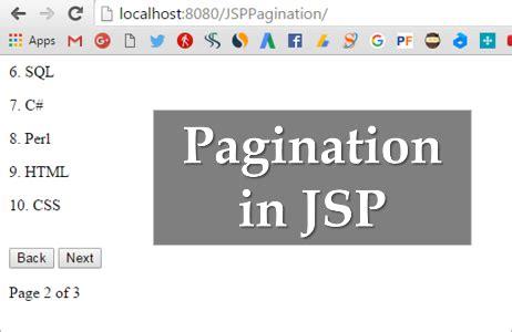 tutorial jquery ajax json jsp pagination exle using jquery ajax json and mysql