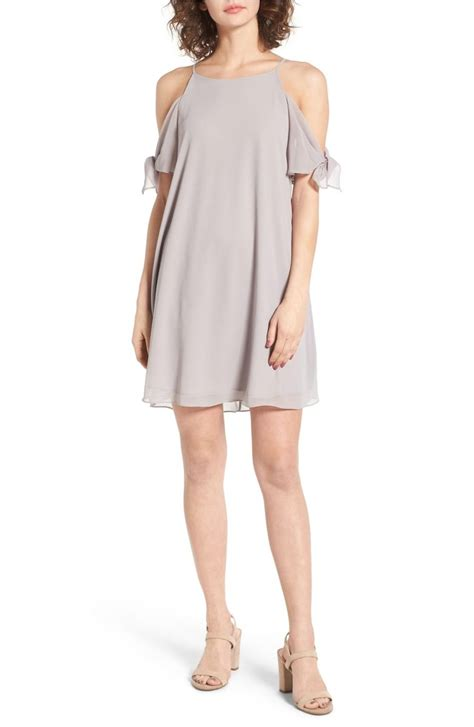 light grey dress wedding guest the best cold shoulder dresses for spring wedding guest