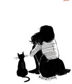 The Lonely Beast Outline by Bir Kedim Bile Yok
