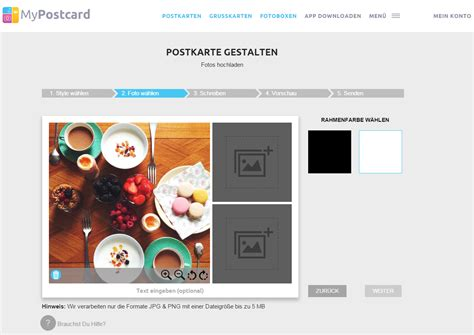Postkarten Schreiben Muster Postkarten Versenden 252 Ber Die Webseite Mypostcard