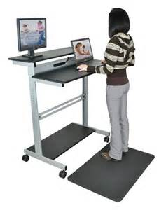 standup desks luxor standup 40 stand up workstation