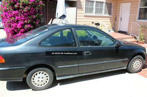 2 Door Civic by 1996 Honda Civic Dx Coupe 2 Door 1 6l