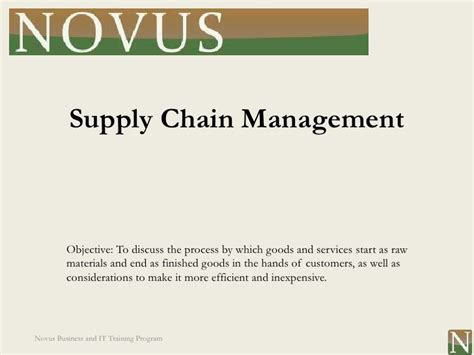 Construction Supply Chain Management Concepts And Studies 5in1 lesson 12 supply chain management