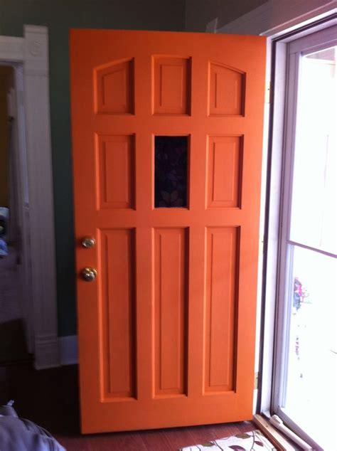 orange front door orange front doors front door freak
