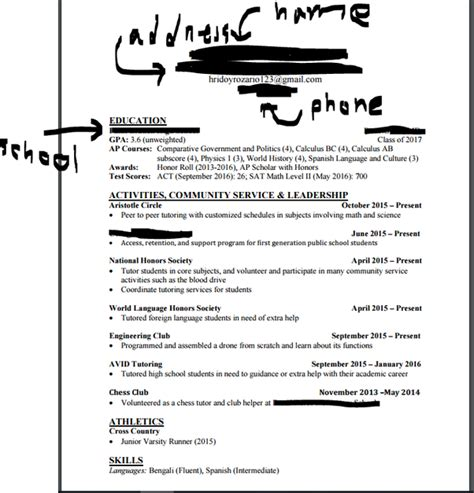 include high school on resume prettify co