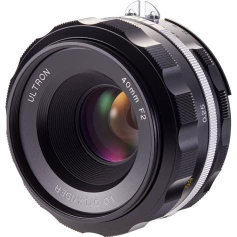 Voigtlander Nikon the new voigtlander ultron 40mm f 2 sl iis aspherical lens