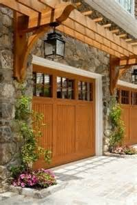 Garage Pergola Designs Pergola Over Garage Doors Pergolas Pinterest Wood