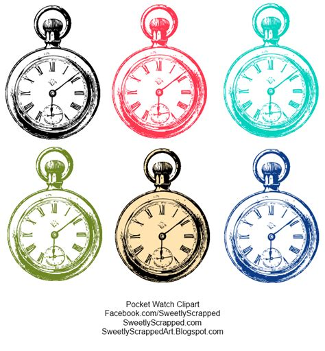 Neat Clocks by Clocks Clock Faces Sweetly Scrapped S Free