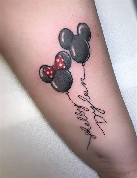 mickey and minnie mouse tattoos 55 best small disney ideas