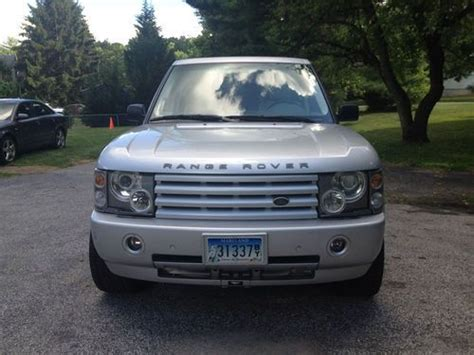 range rover silver interior buy used 2003 silver range rover with interior in