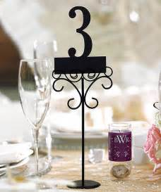 wedding decorations 6 reception table number holders
