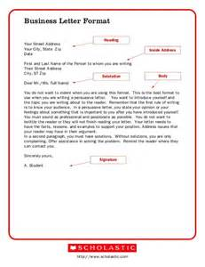 Business Letter Format Your Address business letter format sending offical business letters