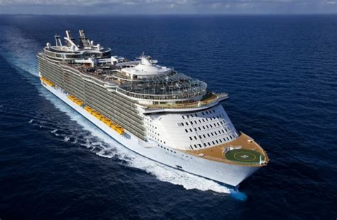 the world s largest cruise ship allure of the seas world s 10 biggest cruise ships monsters of the sea