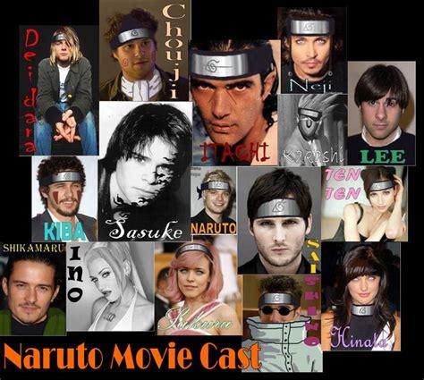 film naruto real movie naruto movie cast by sadisticchick on deviantart