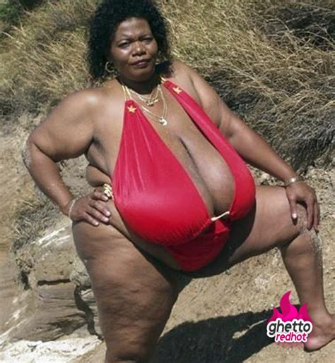 Big Black Woman Meme - take a cold shower or look at this ghetto red hot