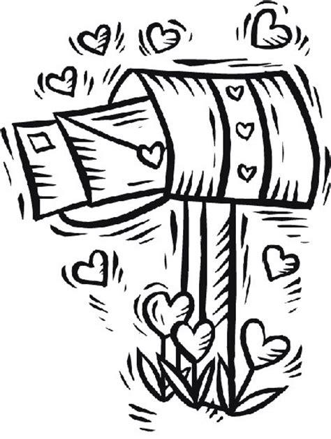 lettere d dei disegno da colorare lettere di in cassetta delle lettere
