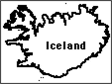 iceland map coloring page europe enchantedlearning com