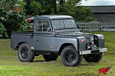 land rover modified the planet explorer land rover series iia 88 pickup