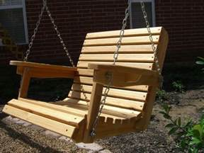 wooden patio swing 2 cypress porch swing wood wooden outdoor furniture ebay