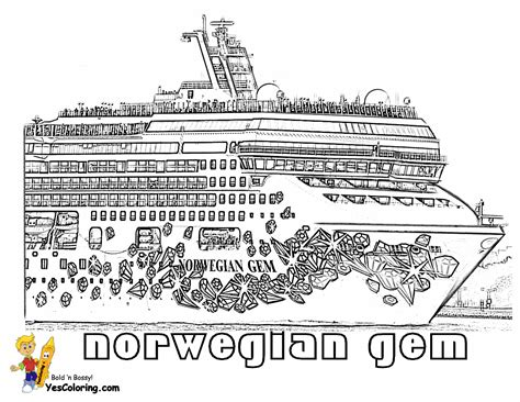 free ferry boat coloring pages