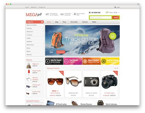e shopping template 40 awesome ecommerce themes 2017 colorlib