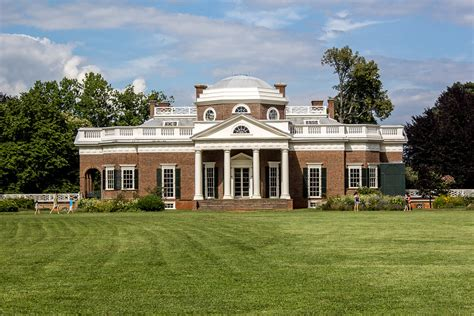 Jeffersons Home jefferson s house monticello virginia
