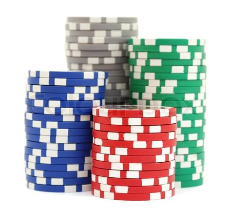 stack up the chips the poker room is open at maryland stacks of poker chips stock photo colourbox