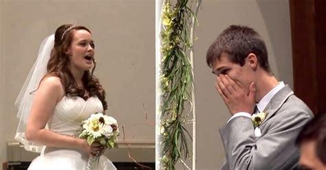 Wedding Aisle Singing by Sings Look At Me As She Walks The Aisle