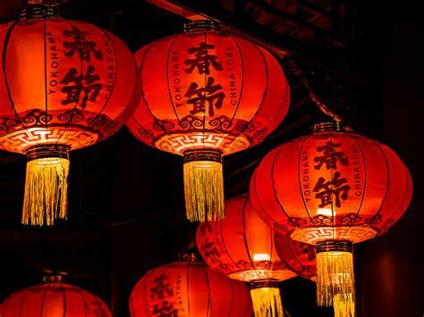 new year 2018 lanterns lanterns for new year taken at yokohama