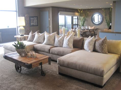 fantastic sectional sofa with oversized ottoman