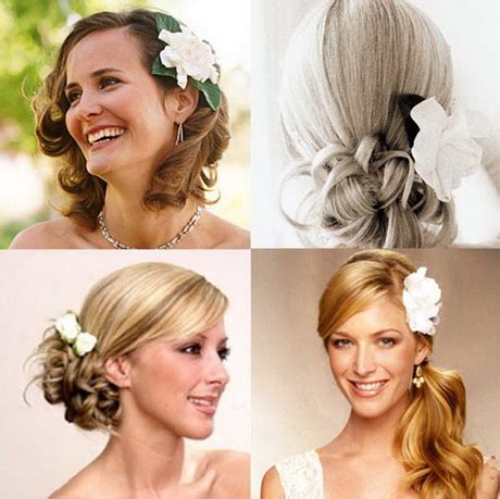 Wedding Hairstyles To The Side With Flower by Wedding Hairstyles To The Side