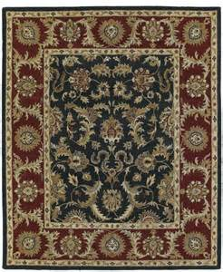 Traditional Rugs Traditional Solomon 9 X12 Rectangle Graphite Area Rug