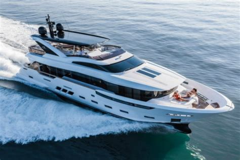 small boat on yacht dreamline 26 m small superyacht luxury topics luxury
