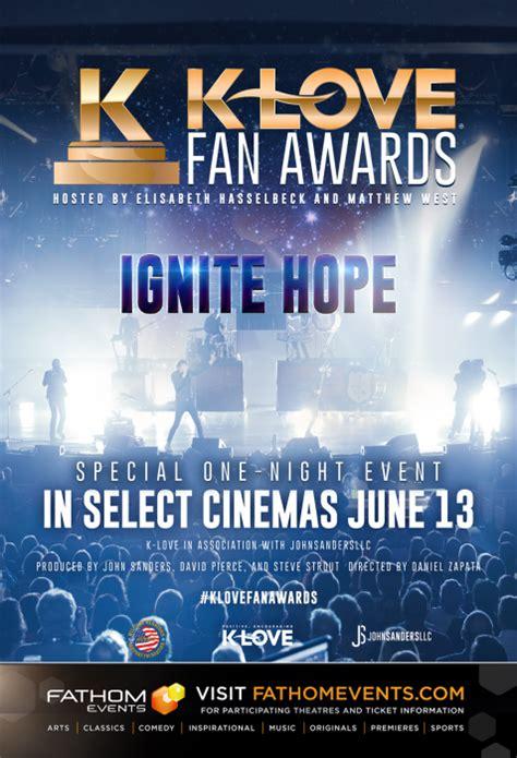 klove fan awards tickets promotional material k fan awards