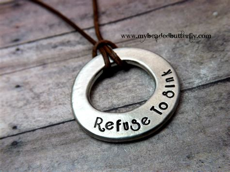mens personalized jewelry mens necklace personalized necklace mens washer