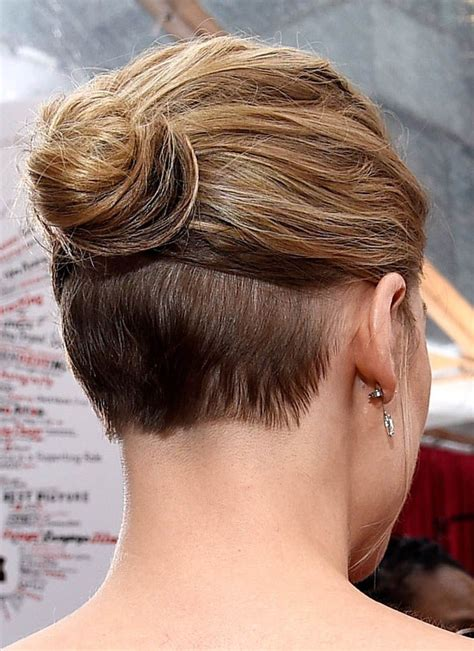 lady neck hair 25 best ideas about shaved nape on pinterest undercut