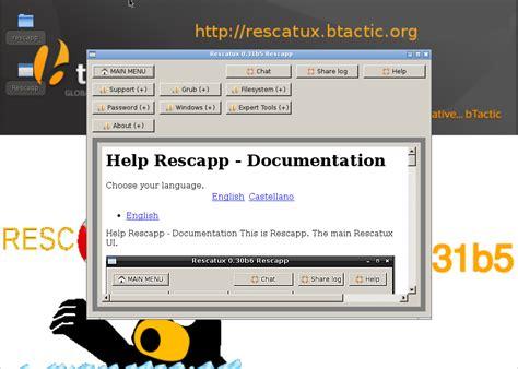reset windows password grub wizard restore grub with rescatux